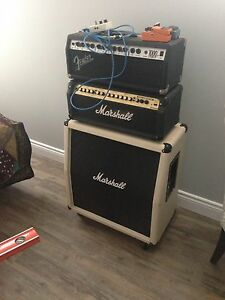 Marshall+fender heads & Marshall cab