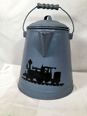 Painted Coffee Pot Wagon Trail Chuck -