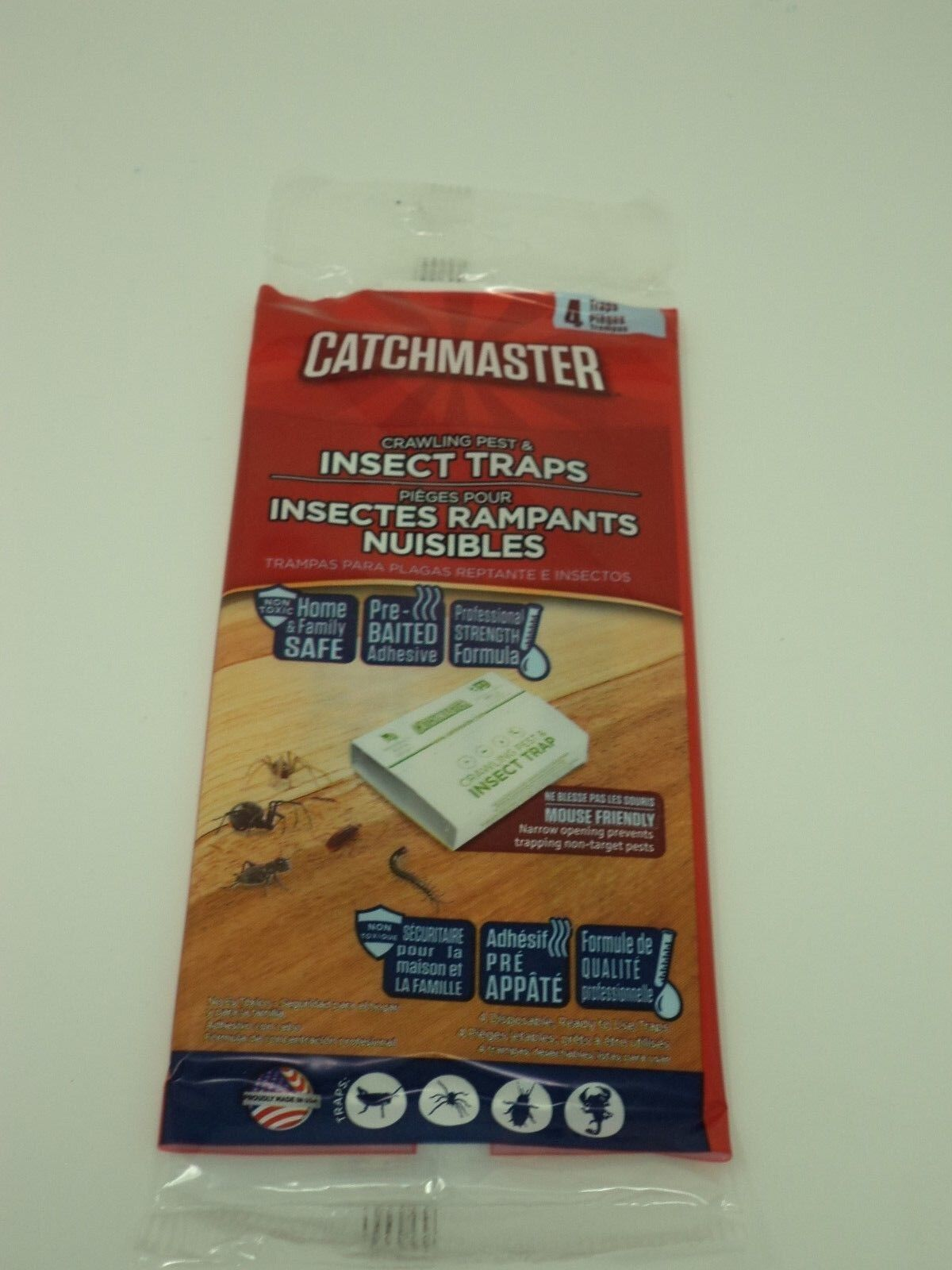 Catchmaster Spider & Insect Traps Pest Control ~ Glue Traps