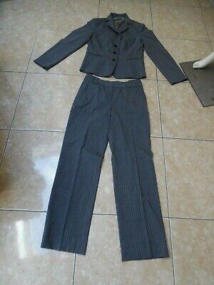 HUGO BOSS joli tailleur veste et pantalon femme taille 44 ( FR )