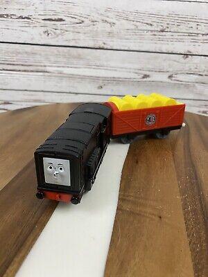 Thomas Trackmaster 2010 Talking Diesel works Diesel train V1906 Works Great