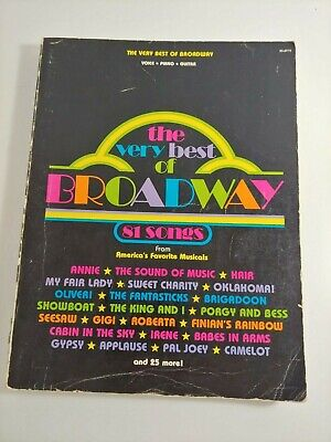 Chicago Broadway Edition Sheet Music Vocal Selections NEW 000312087