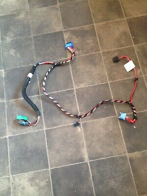 Peugeot 206 Heater Box Blower Motor Wiring Loom Manual Controls + Ac Connector