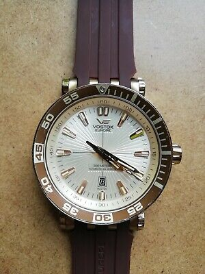 Vostok Europe Energia Gold NH35A Automatic Movement Watch - Used