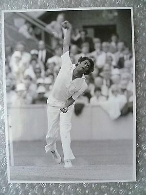 Org Press Photo 1970s - Cricketer DANDENIYAGE DA SILVA Sri Lanka- Action Shots