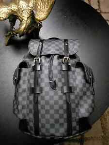 Louis Vuitton Christopher PM Damier Graphite Backpack Boronia Knox Area Preview
