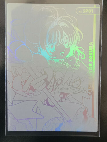 Cardcaptor Sakura Etching Card #SP 01