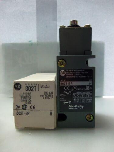 New Allen Bradley 802T-BP Oiltight Plug-In Limit Switch 802TBP Series H NIB