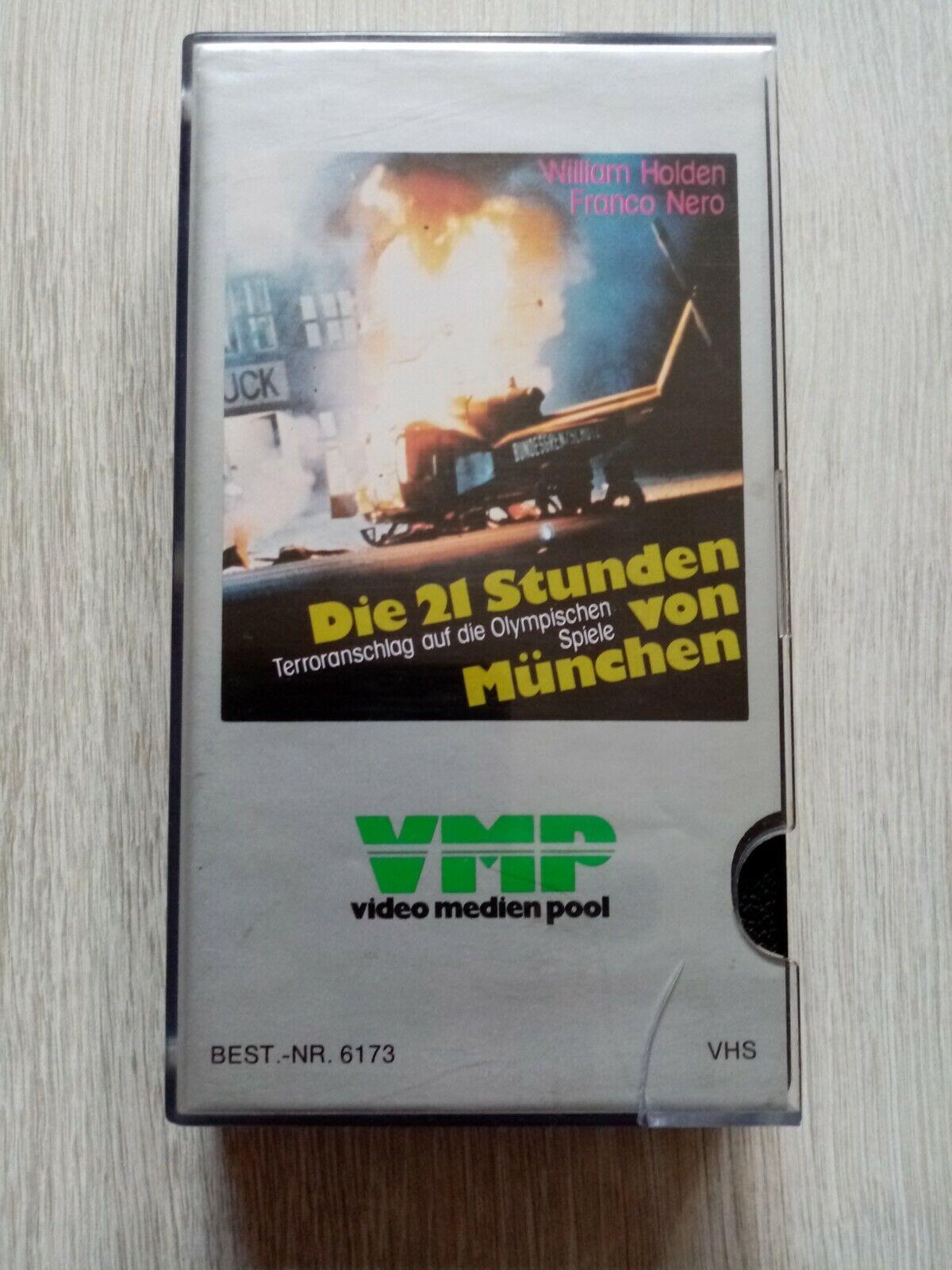 Die 21 Stunden von München: VHS VMP Glasbox.
