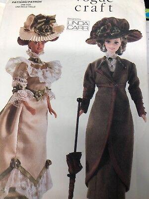 Vogue 7109 Craft Vintage Fashions for 11 1/2