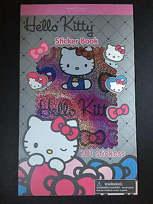 New Sanrio Hello Kitty Sticker Book 101 Assorted Stickers