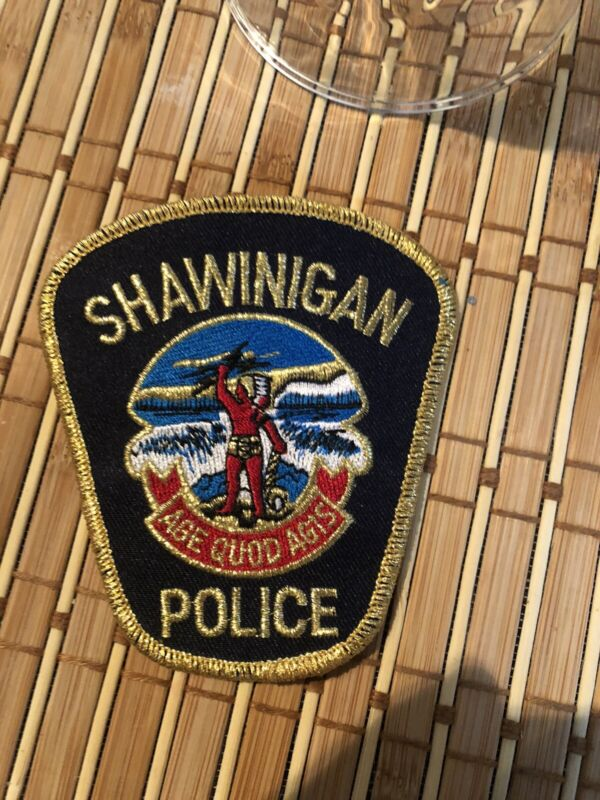 Patch police collection/ Old Shawinigan Police Patch