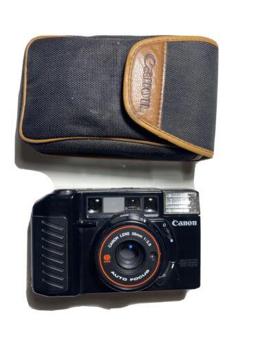 Canon AF35M Sure Shot 35mm Film Camera 38mm F/2.8 Lens Tested  - $100.00