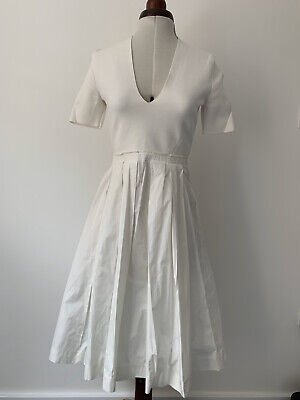 Burberry London White Dress 04US