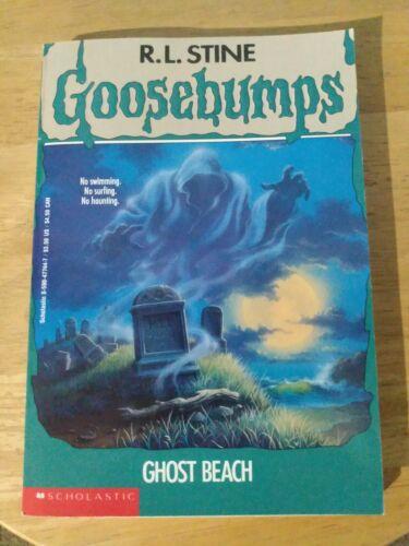 RL Stine Goosebumps Ghost Beach - $0.50
