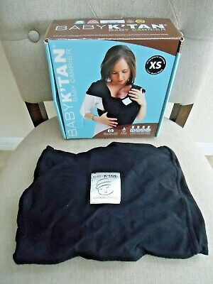 Baby K'tan Original Baby Carrier Black X-small
