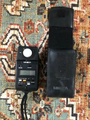 Minolta Light Meter Flash IV