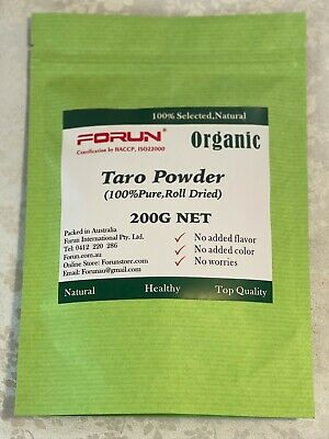 FORUN Natural Taro Powder  200G - 100% Pure, No Colorant, No Flavour