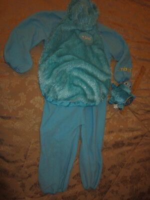 Boohbah Costumes (Halloween Costume BOOHBAH JUMBAH Plush 1-2 years JUMPSUIT BEAN BAG TOY)