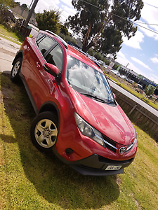 TOYOTA RAV 4 2013 RED - LOW KM -  1 OWNER Roxburgh Park Hume Area Preview