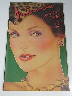 Interview magazine- 1979 Priscilla Presley -Andy Warhol-AMAZING CONDITION!