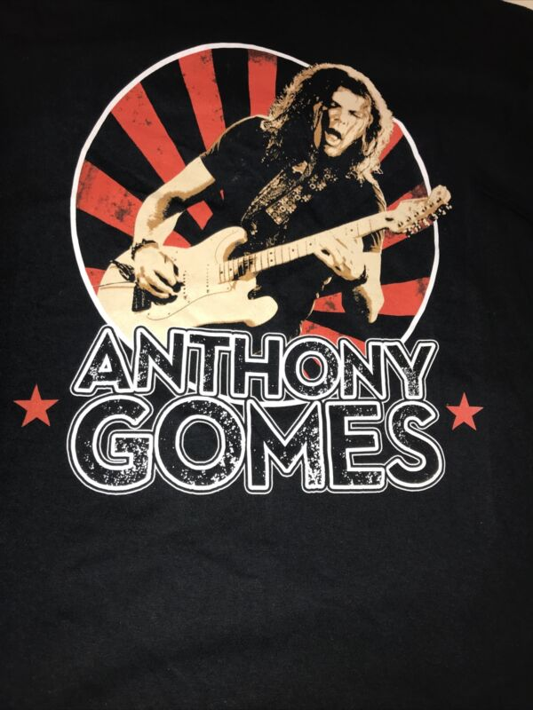 ANTONY GOMES NORTH AMERICAN TOUR CONCERT T SHIRT XL NEW ?