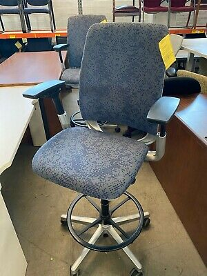 Drafting Chairstool By Steelcase Amia Fully Loaded