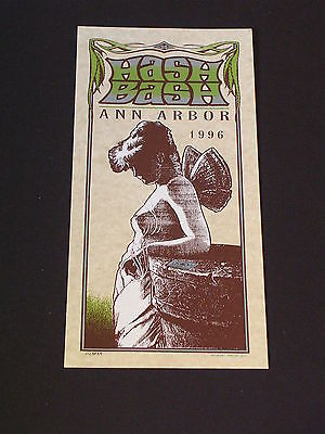 HASH BASH ANN ARBOR  Psychedelic Postcard by MARK ARMINSKI