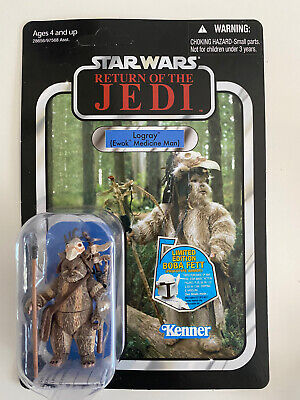 Star Wars Vintage Collection VC55 Logray Ewok  New Action Figure