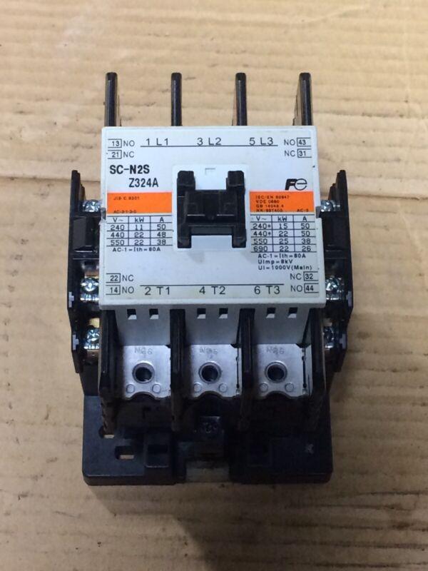 Fuji Electric FA SC-N2S Z324A Contactor