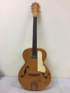 Vintage Silvertone Acoustic Archtop? Hollow Body? Electric Guitar Dearmond
