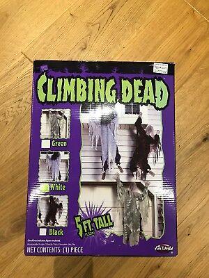 Climbing Dead 5ft Tall Zombie Skeleton Walking Dead Halloween Decoration Prop - Climbing Halloween Costumes