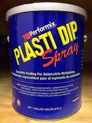 Performix Plasti Dip- 1 Gallon Matte White Spray-thinned