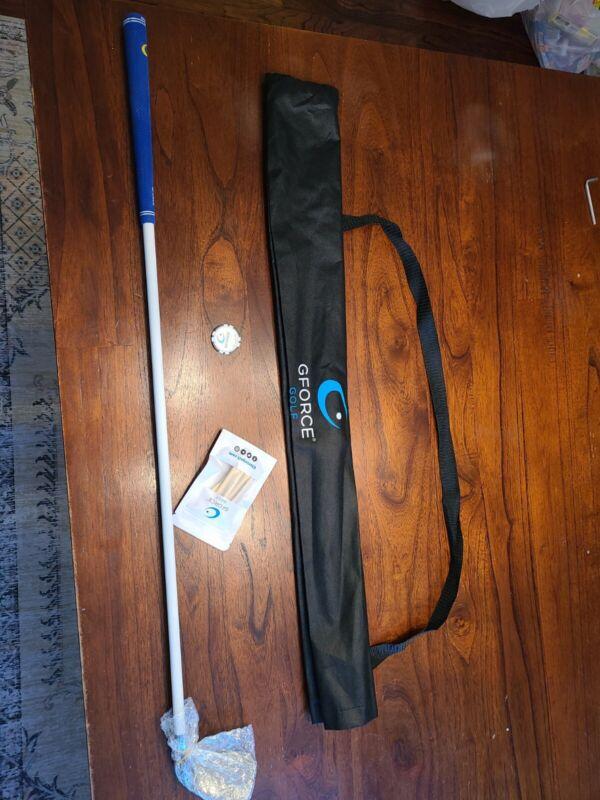 GForce Golf Swing Trainer 7 Iron Flexible Shaft Hittable Training Aid Left Hand