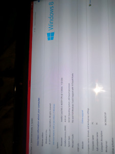 Windows 8 DELL Touchscreen Tablet