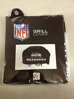 Seattle Seahawks Economy Team Logo Bbq Gas Propane Grill Cover   New
