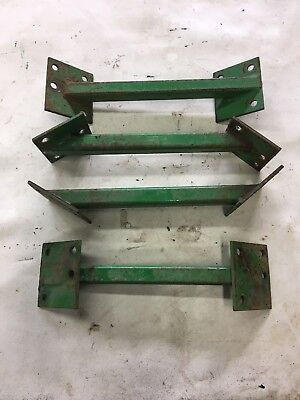 John Deere Gator Amt 600622626 Axle Support Set Of Four Used