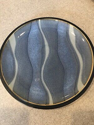 Denby Langley BLUE JETTY WATER Salad Plate (Jetty Blue)