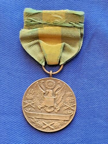 Rare WW1 Numbered #3554 Mexican Border Service Medal Belongs SFC Egner,Phillip.H