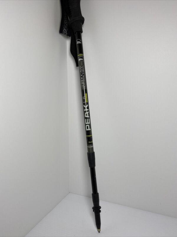 REI Peak UL Carbon Fiber Trekking Hiking Pole 100-125 CM Adjustable 3-Sect. Read