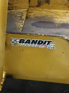 Bandit wood chipper
