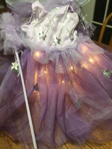 NEW Pottery Barn KIDS Lavender Fairy Light-Up Halloween Costume~3T/NWT
