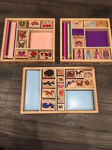 Melissa and Doug Stamp Sets