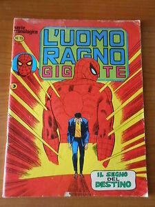L-039-UOMO-RAGNO-gigante-n-19-serie-cronologica-ed-CORNO-fumetto-super-eroi