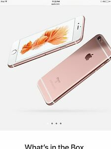 lost /stolen IPhone 6s Plus Rose Gold