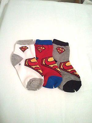Super Man 1/4 Crew socks for baby & Toddler girls & boys - Baby Super Man