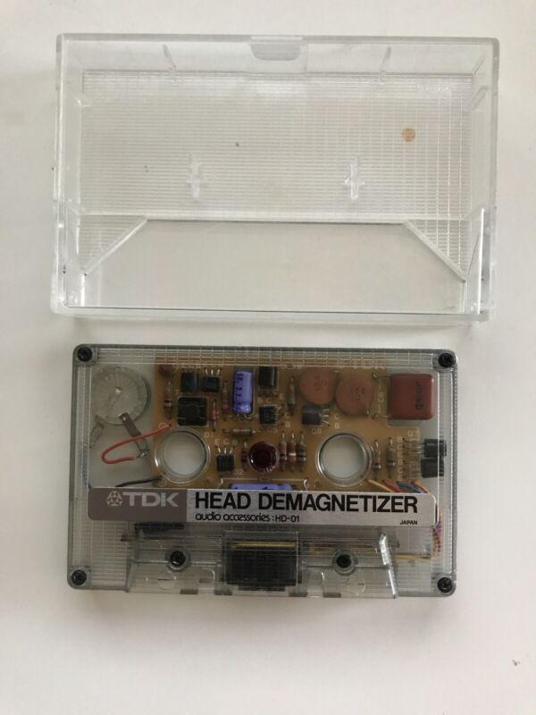 Vintage TDK Cassette Head Demagnetizer Model HD-01 Japan