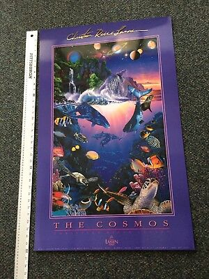"Christian Lassen 24"" X 36"" Art Poster  THE COSMOS   1992 Lassen  Excellent"
