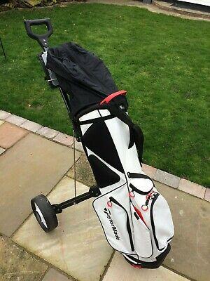 Set Of Golf Clubs Taylormade Aero Burner R Flex Nike OZ T100 Putter.