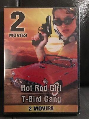 HOT ROD GIRL / T-BIRD GANG (DVD 2005) RARE SET BRAND NEW  Free Shipping.